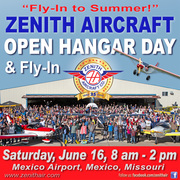 """Zenith Aircraft """"Fly In to Summer"""" Open House"""