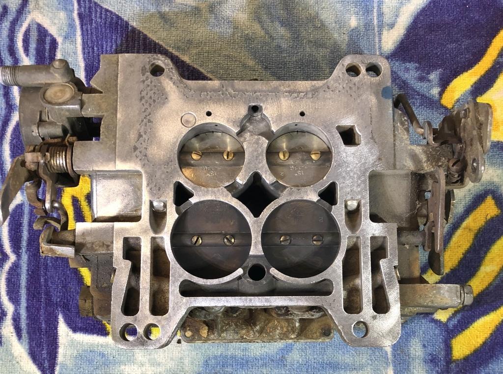 Jason's Carburetor & Intake Project - 63/64 Cadillac Website