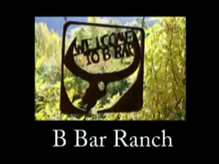 Working at the B Bar Ranch in Montana