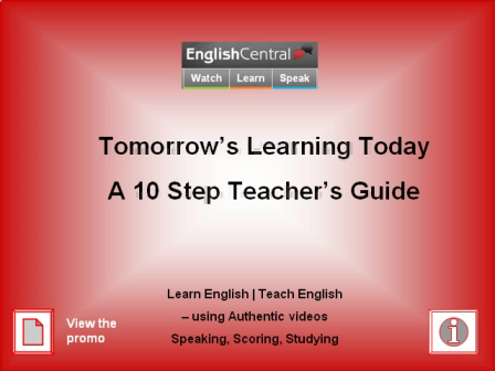 Using English Central Guide