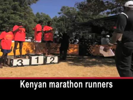 VOA: Kenyan Runners