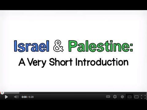 Israel and Palestine, an animated introduction.