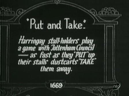 """1927 """"Put and Take"""""""