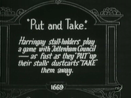 "1927 ""Put and Take"""