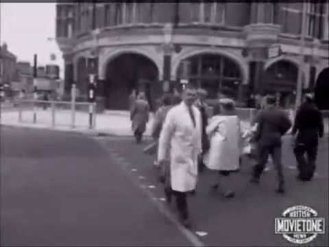 Traffic Control Experiment Harringay, 1963