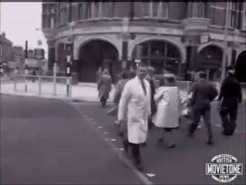 Traffic Control Experiment Harringay, 1963