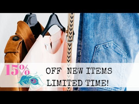 15% Off NEW ITEMS at Suthern Soul Thriftin' Online Thrift Store