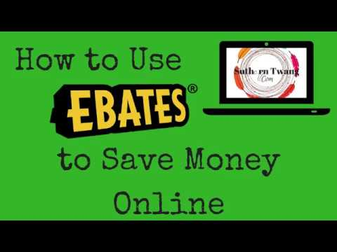 How to Use Ebates to Save Money Online