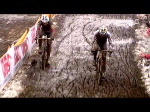 Cyclocross GVA Trophy GP Nys Baal 2010 - Nys vs. Stybar Last 2 laps