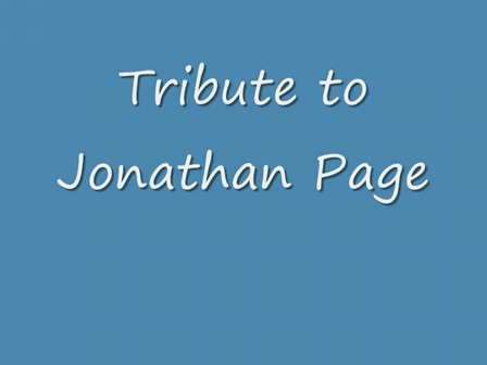 Tribute to Jonathan Page