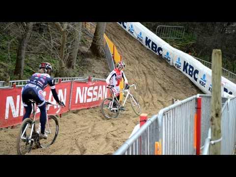 Cody Kaiser leading team Cal Giant down the sandy hill