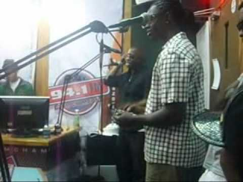 UZMAN live Radio performance on Trinidad's 94.1FM, ANDROID RELEASE PROMO
