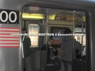dance-tech.net presents: MIDITRON Wireless 4 dancers