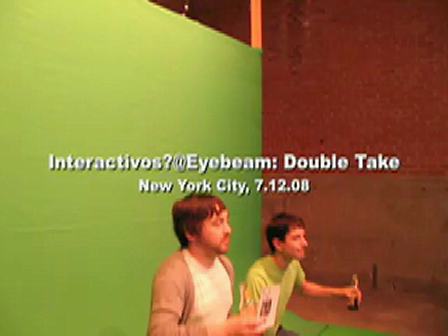 dance-tech.net presents: Interactivos? @ Eyebeam: Opening Frames for Collaboration and Research
