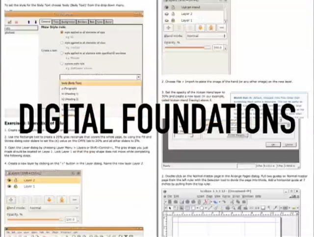 FLOSS Book Sprint: Digital Foundations by Michael Mandiberg