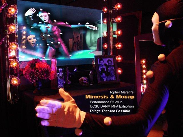 Avatar Theatre Live! (Mimesis & Mocap Performance Study)