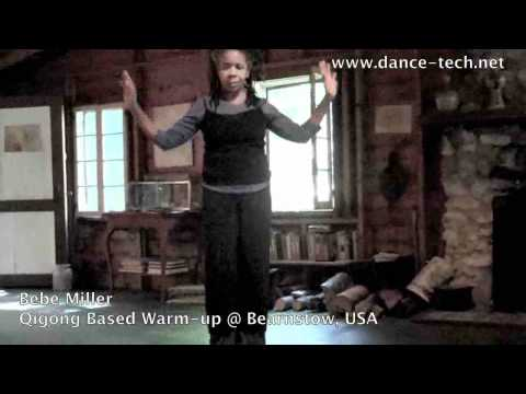 Bebe Miller @ BEARNSTOW: Qigong based warm-up, Maine USA
