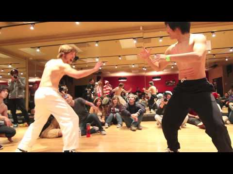 B-BOY BATTLE: Chuck Norris VS Bruce Lee (Halloween Edition)