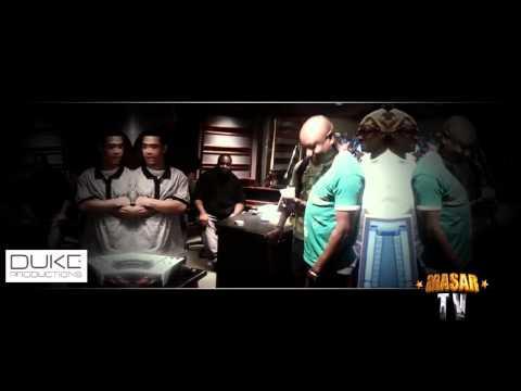 Araab Muzik, Busta Rhymes, Duke Da God & Masar TV - Studio Session