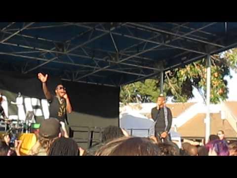 Dead Prez live at Life is Living Festival, Oakland, CA (10/12/13) - www.trueskool.com