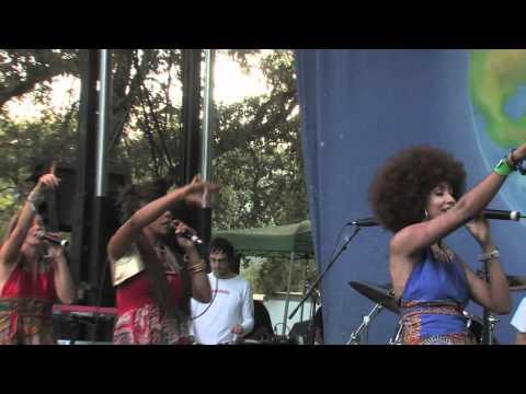 Zap Mama Live at Earthdance Festival