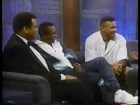 The Arsenio Hall Show 1990 With The Greats: Muhammad Ali, Sugar Ray Leonard & Mike Tyson