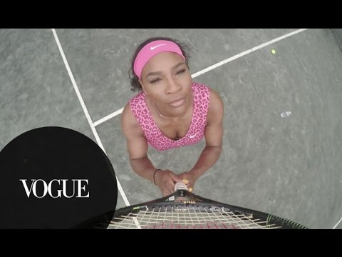 """Serena Williams Remakes """"7/11"""" Video for Vogue"""