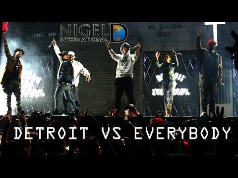 Big Sean Brings out Eminem & Lil Wayne at 'Finding Paradise' Concert in Detroit