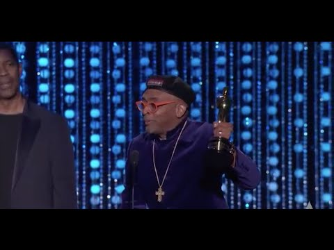 23 Years Later, Spike Lee Finally Gets His Oscar & Uses It To Promote Diversity (Video)