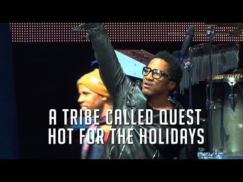 """Watch A Tribe Called Quest & Leaders Of The New School Reunite, Perform """"Scenario"""" Live & Direct"""