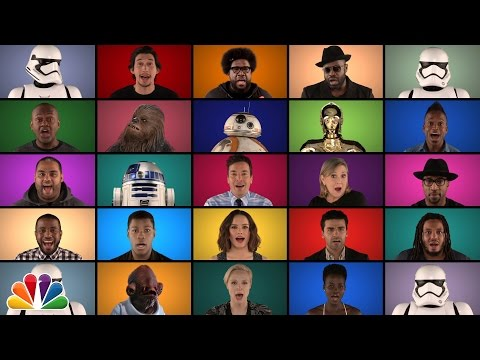Watch The Roots & The 'Star Wars' Cast Recreate The Legendary Opening Theme In A Cappella