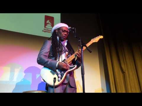 """Nile Rodgers Tells the Story of David Bowie's """"Let's Dance"""""""