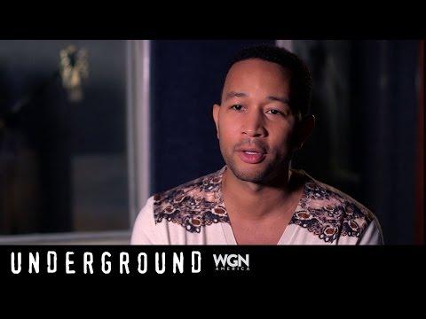 """John Legend & Raphael Saadiq on the music of """"Underground"""" TV Series"""