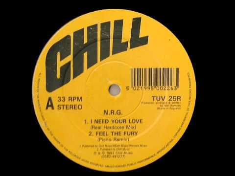 I Need Your Love (like the sunshine) - N.R.G.  Original Mix 1992