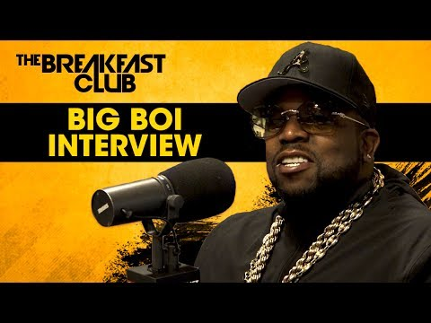 Big Boi Talks Potential OutKast Biopic With The Breakfast Club