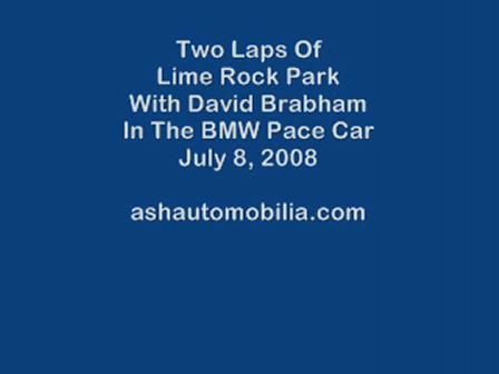 David Brabham Takes Me Around LRP 2008