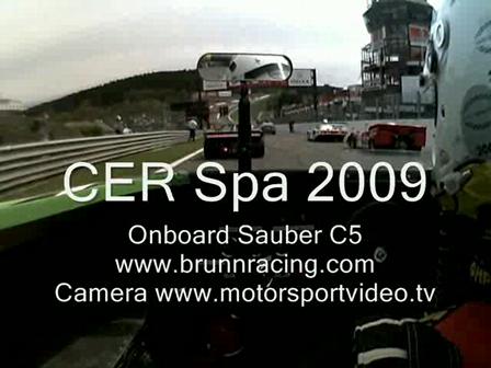 ONBOARD - CER Spa 2009 Race