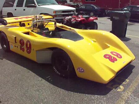 1971 McLaren M8E 80-04 Can Am Car