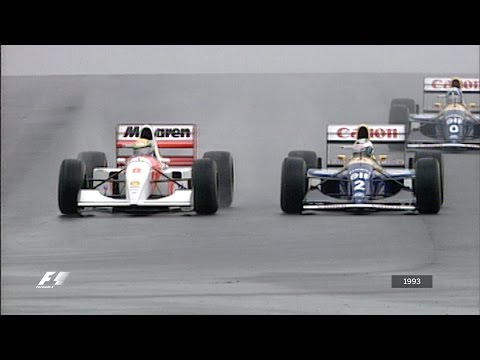 F1's Greatest Lap - Ayrton Senna at Donington 1993