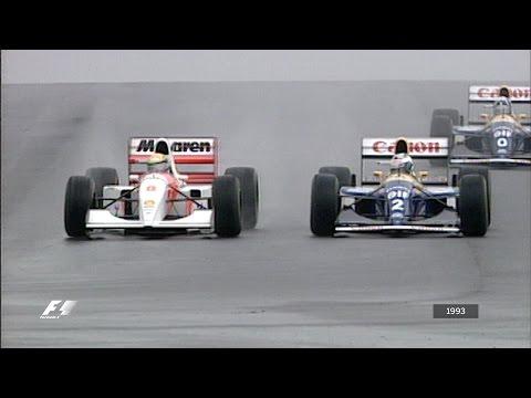 F1's Greatest Lap - Ayrton Senna at Donington 1993