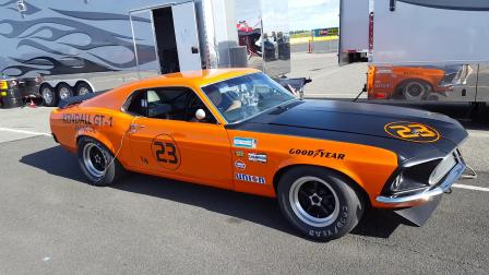 Spokane Raceway - Tom's Mustang!