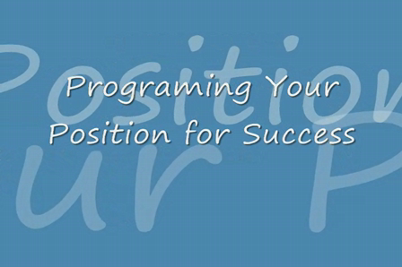 Program Your Position