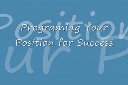Program Your Position