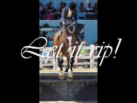 Let 'er Rip, Let it Fly - Side Saddle Jumping!