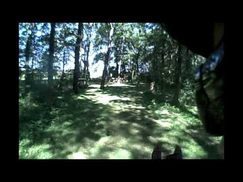 Hold on tight! Helmet Cam! Doug Payne and Running Order at Richland Park