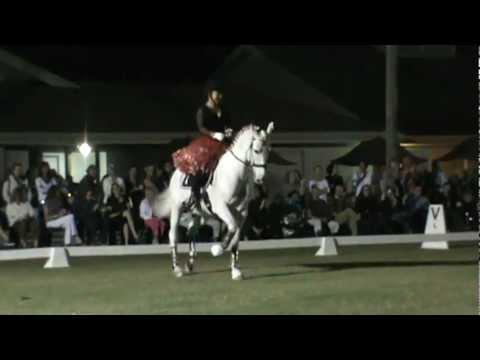 Dressage Under The Stars Winner of Week #2 Ruth Hogan Poulsen