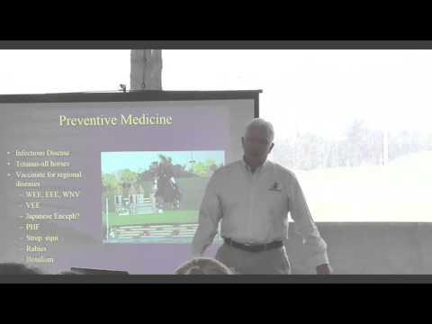 Controlling Infectious Disease in Horses - Understanding Vaccines