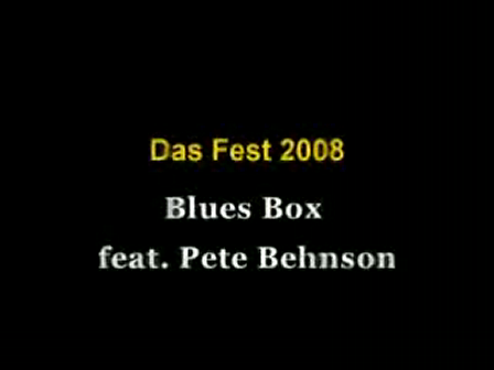 Blues Box Every day I have the blues