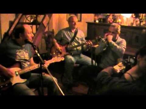 Mean Old World cover by George & The Dukes takes part John Pachidis at Granazi Blues Bar
