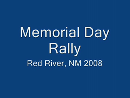 Red River NM, Bike Rally 2008